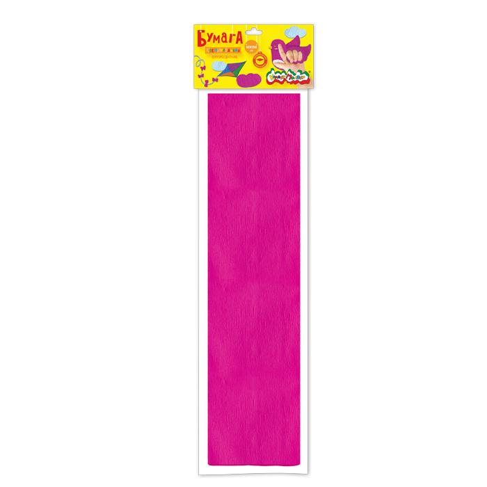 Анонс-изображение товара бумага цв. крепир. флуор. каляка-маляка 50х250 см 1 цв. фуксия 32 г/м2 в пакете с европодвесом