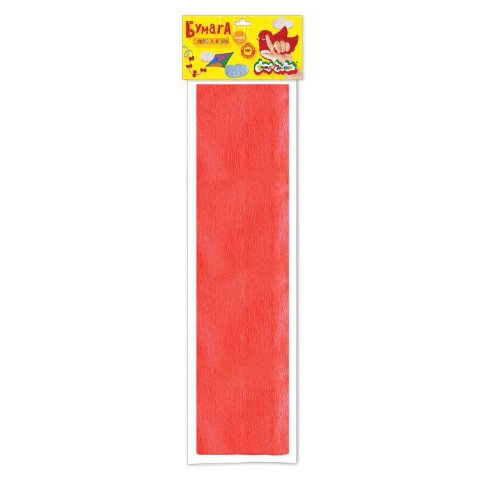 Анонс-изображение товара бумага цв. крепир. каляка-маляка 50х250 см 1 цв. красная 32 г/м2 в пакете с европодвесом